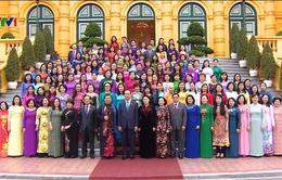 Chủ tịch nước gặp mặt Nhóm nữ đại biểu Quốc hội