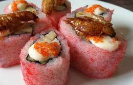 Trung Quốc: Gián được dùng làm thịt và sushi