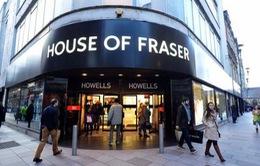 Tập đoàn bán lẻ House of Fraser đóng cửa 1/2 số cửa hàng