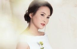 Bảo Thanh đẹp dịu dàng trong trang phục váy cưới