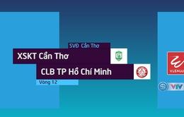 Tổng hợp diễn biến XSKT Cần Thơ 1–1 CLB TP Hồ Chí Minh (Vòng 12 Nuti Café V.League 2018)