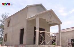 Nhà chống bão an toàn cho các hộ dân bị ảnh hưởng do bão Damrey