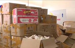 Tạm giữ khoảng 7 tấn thực phẩm chức năng, mỹ phẩm có dấu hiệu vi phạm