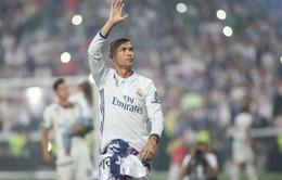 Chuyển nhượng bóng đá quốc tế ngày 21/01/2018: Real Madrid để mặc Ronaldo đàm phán với CLB khác