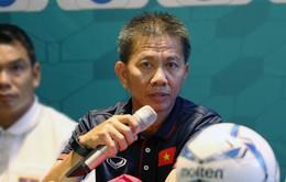 """HLV trưởng Hoàng Anh Tuấn: """"U19 Việt Nam sẽ cố gắng đi đến trận đấu cuối cùng"""""""