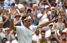 Federer, Nadal và Djokovic cùng tiến vào tứ kết Wimbledon 2018