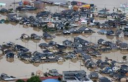 Gia tăng thương vong do mưa lũ ở Nhật Bản