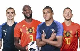 Bán kết World Cup 2018, ĐT Pháp - ĐT Bỉ: Cuộc chiến giữa những vì sao! (01h00 ngày 11/7 trực tiếp trên VTV3)