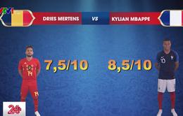 Bán kết World Cup 2018, Pháp vs Bỉ: Cuộc chạm trán của những ngôi sao
