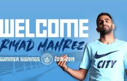 CHÍNH THỨC: Riyad Mahrez gia nhập Man City với giá kỷ lục