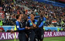 KẾT QUẢ Bán kết FIFA World Cup™ 2018: Thắng tối thiểu ĐT Bỉ, ĐT Pháp giành quyền vào chung kết!