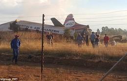 Tai nạn máy bay ở Nam Phi, 19 người bị thương