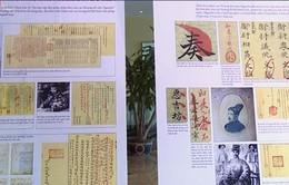 Số hóa di sản tài liệu châu bản triều Nguyễn