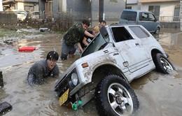 Số người thiệt mạng do mưa lũ ở Nhật Bản tăng nhanh
