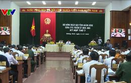 Khai mạc Kỳ họp Hội đồng nhân dân tại một số tỉnh miền Trung
