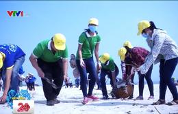 Khởi động chương trình Hãy làm sạch biển 2018