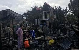 Nỗ lực ổn định cuộc sống sau hỏa hoạn tại Campuchia
