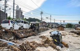199 người thiệt mạng trong đợt mưa lũ tại Nhật Bản