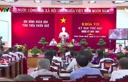 Bế mạc kỳ họp HĐND tỉnh Thừa Thiên Huế