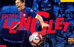 CHÍNH THỨC: Barcelona công bố tân binh thứ 2