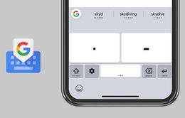 Google hỗ trợ người khuyết tật dùng bàn phím ảo iOS với mã Morse