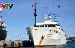"""Bắt đầu chuyến khảo sát thứ 6 của Tàu nghiên cứu khoa học """"Viện sĩ Oparin"""""""