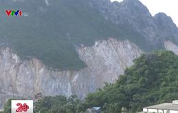 Thiếu giám sát việc sử dụng vật liệu nổ tại các mỏ đá ở Hòa Bình