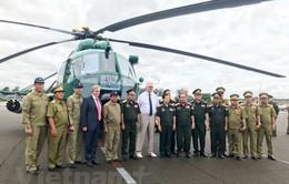 Nga bàn giao máy bay trực thăng cho Lào