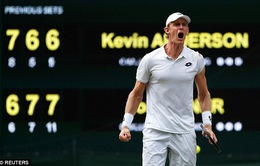 Bán kết Wimbledon 2018: Kevin Anderson giành chiến thắng sau hơn 6 giờ thi đấu