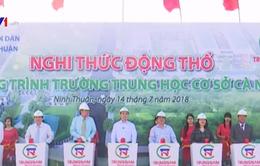 Ninh Thuận khởi công Trường THCS Cà Ná
