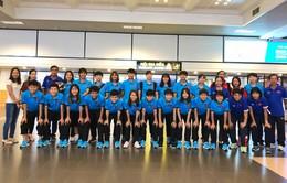 Đội tuyển nữ Việt Nam đã về nước, tiếp tục chuẩn bị cho Asiad 2018