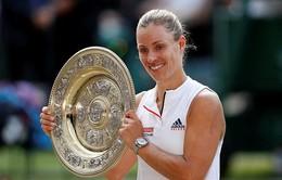 Thắng thuyết phục Serena Williams, Angelique Kerber lần đầu đăng quang tại Wimbledon