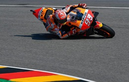 Moto GP: Marc Marquez giành pole nghẹt thở tại Sachsenring