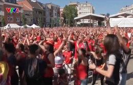 Người Bỉ tự hào với Huy chương Đồng World Cup 2018