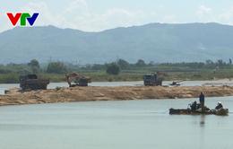 Bộ Công an mở đợt cao điểm xử lý vi phạm khai thác, kinh doanh cát sỏi