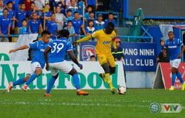 Vòng 19 V.League 2018: Đình Tùng lập công, FLC Thanh Hóa chia điểm với Than Quảng Ninh