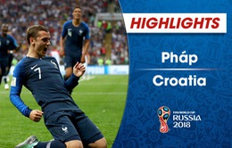 VIDEO: HIGHLIGHTS ĐT Pháp 4-2 ĐT Croatia (Chung kết FIFA World Cup™ 2018)