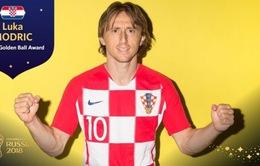 Luka Modric - Cầu thủ hay nhất FIFA World Cup™ 2018