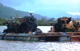 Truy tìm bằng chứng cát tặc tại thung lũng Tà Pao