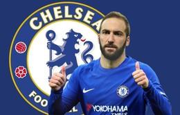 Chuyển nhượng bóng đá quốc tế ngày 17/7: Chelsea chi 60 triệu euro để mua Higuain