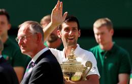 BXH tennis ngày 16/7: Djokovic trở lại ấn tượng, Lý Hoàng Nam xếp trên Andy Murray