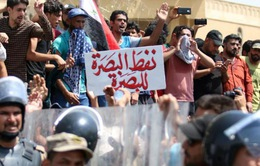 Biểu tình bạo lực tiếp diễn tại Iraq