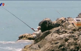 Kiểu câu cá có một không hai ở Nha Trang