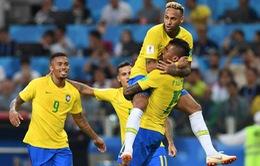 Lịch thi đấu và trực tiếp FIFA World Cup™ 2018 ngày 02, rạng sáng 03/7: Brazil quyết thắng, ĐT Bỉ dễ thở