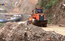 Lai Châu nỗ lực thông đường sau mưa lũ