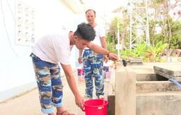 Thị trấn Trường Sa triển khai lắp đặt hệ thống máy lọc nước biển