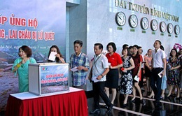 VTV quyên góp, ủng hộ vùng lũ