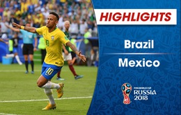 HIGHLIGHTS: Brazil 2-0 Mexico (Vòng 1/8 FIFA World Cup™ 2018)