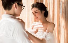 Á hậu Tú Anh tung bộ ảnh cưới lãng mạn