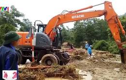 Đã tìm thấy 7 nạn nhân mất tích vì lũ ống tại Thanh Hóa